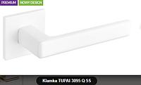 Дверная ручка  Tupai  3095 Q 5S белая