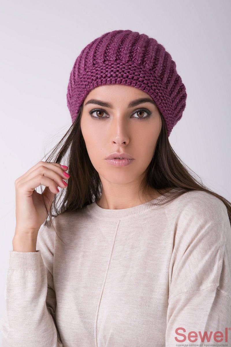 женская зимняя шапка вязаная продажа цена в киеве шапки от Vk