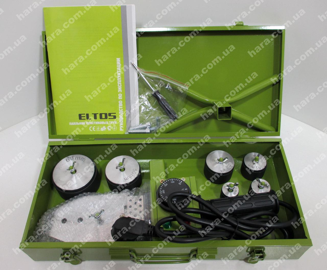 Паяльник для пластиковых труб Eltos ППТ-1800