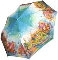 Зонт для женщин, с ярким рисунком, полный автомат ZEST Z23945-25 Антиветер