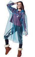 Сплошной (цельный) дождевик, плащ от дождя универсальный дешевый