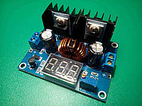 Понижающий преобразователь + вольтметр XL4016 8 А DC-DC 1.25-36V