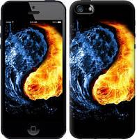 """Чехол на iPhone 5s Инь-Янь """"1670c-21-5999"""""""