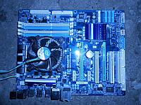 Gigabyte GA-P55-USB3(Rev. 2.0)Socket 1156 + Pentium G6950 (2x2.8GHz) Box - в идеале!!!