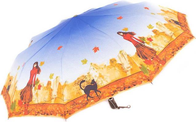 Зонт яркий, оригинальный, полный автомат ZEST Z239666-27 Антиветер