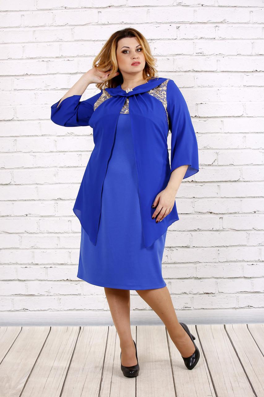 Платье электрик | 0709-3