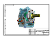 Мотор-редуктор МЧ-40-71 71 об/мин выходного вала, фото 2