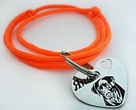 Жетон Адресник+регулируемый шнурок(цвета в ассортименте) Медальон с лазерной гравировкой