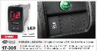 USB разъем CARAV 17-305 (Honda Acura)