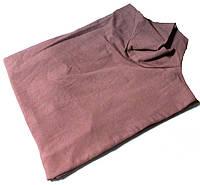 Гольф котон Турция размер 54-60 код 057 серо-розовый