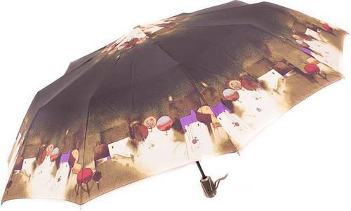 Оригинальный женский зонт яркой расцветки, полный автомат ZEST Z239666-49 Антиветер