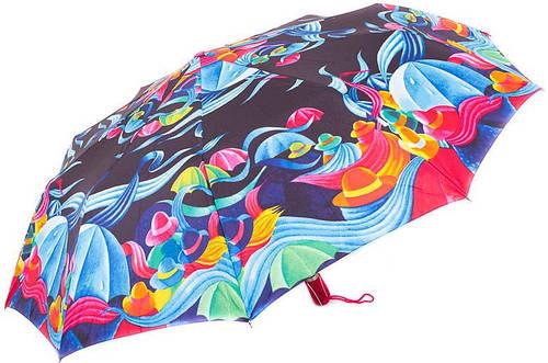Оригинальный женский зонт с яркой расцветкой, полный автомат ZEST Z239666-41 Антиветер
