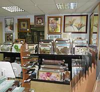 Оформление картин в рамы, фоторамы, салон на Выборгской,  г. Киев