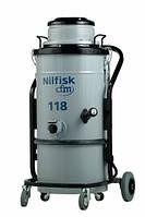 Промышленный пылесос для сухой уборки Nilfisk 118, фото 1