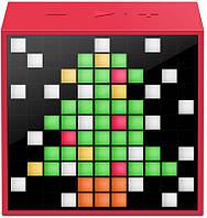 Акустическая система Divoom Timebox mini Red (DIMTMIR)