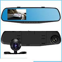 Автомобильный видеорегистратор-зеркало DVR 138EHс камерой заднего вида