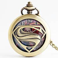 Карманные часы Супермен