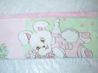 Детское махровое плед-одеяло зайка