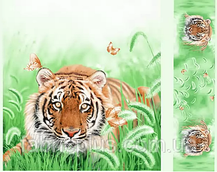 Сатин-панно диз: Tiger