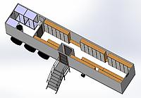 Модуль раздевалка