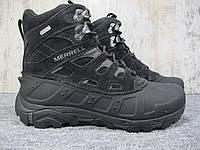 Ботинки мужские зимние Merrell MOAB POLAR WATERPROOF J41917 BLACK