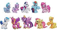 My little pony фирменный эксклюзивный набор 10 пони из США