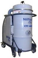 Nilfisk CTT40 – 3-фазный промышленный пылесос для сухой уборки