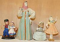 Старинные фигурки, антикварные статуэтки.