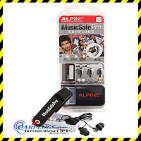 Alpine MusicSafe Pro Black Edition - БЕРУШИ ДЛЯ МУЗЫКАНТОВ и DJs  + ПОДАРОК! Голландия.