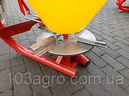 Розкидач мінеральних добрив JAR-MAT 500 кг, фото 2