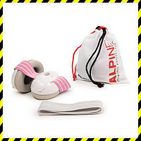 Наушники для детей (3-36 мес.) Alpine Muffy Baby, white-pink, фото 1