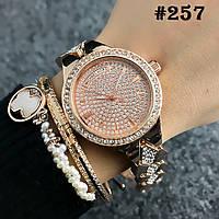 Женские часы цвета розового золота Michael Kors  (257)