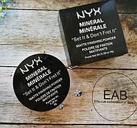Пудра рассыпчатая NYX Mineral