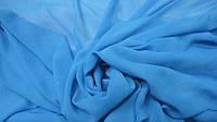 Шифон Однотонный (голубая бирюза) ткань