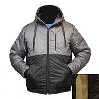 Мужская куртка под резинку на овчинке пр-во. Украина KD1919H
