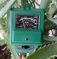Домашний  тестер для измерения  влажности, ph-свойств почвы и уровня освещенности  растений