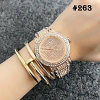 Женские часы цвета розового золота Michael Kors  (263)