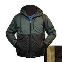 Молодежная куртка под резинку с подкладкой из овчины KD11919H