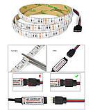 Светодиодная подсветка для телевизора 1м RGB SMD5050 USB c пультом ДУ, фото 7