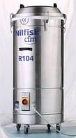 Трехфазный пылесос R-серии Nilfisk-CFM для сбора обрези при процессе резки пластика, бумаги и ткани