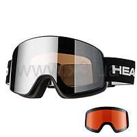 "Маска  HEAD HORIZON RACE + SpareLens ""18"