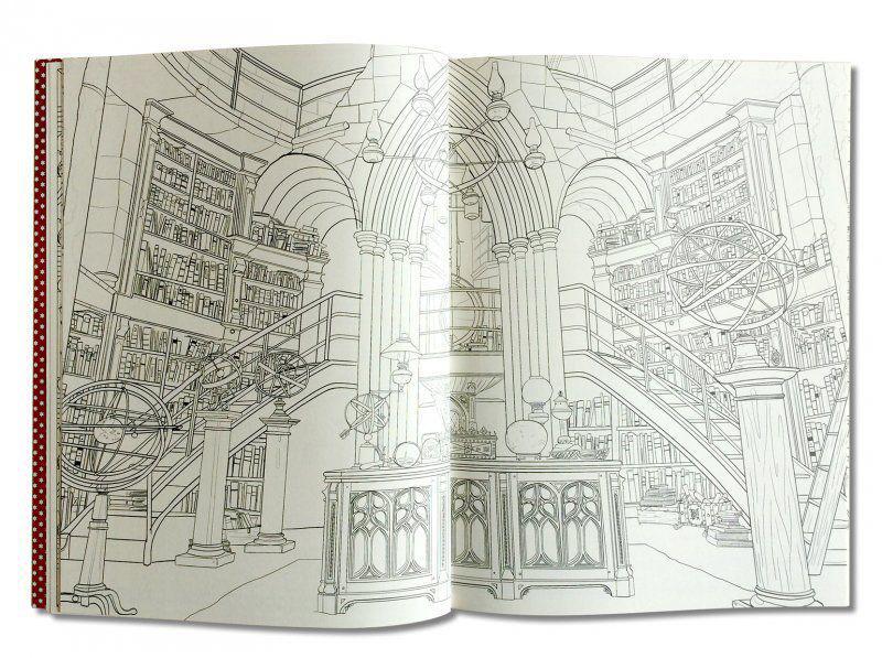 Гарри Поттер раскраска Волшебники и где их искать купить в ...