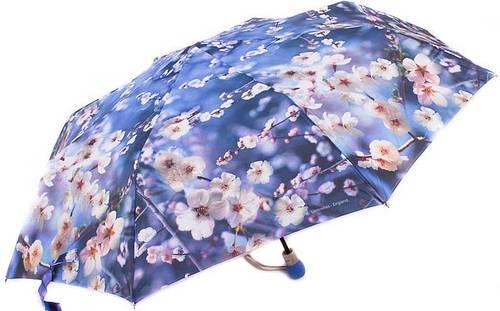 Красочный, женский зонт, полуавтомат ZEST Антиветер! Z23625-4