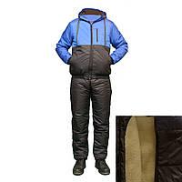 Теплый спортивный костюм на синтепоне с подкладкой из овчины F11819H