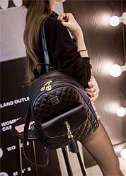 Рюкзак городской женский черный
