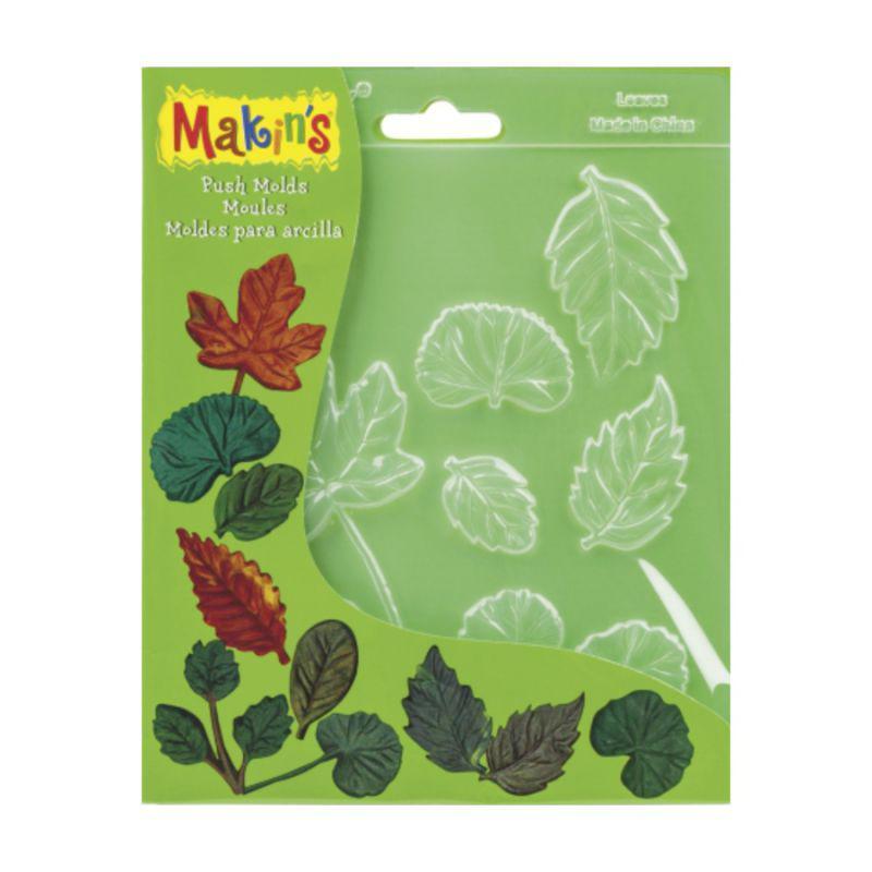 Молд, листья, 10 предметов, Makin's, № 39001, 2118661057
