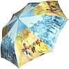 Красочный, яркий, женский зонт, полуавтомат ZEST Антиветер! Z23625-6