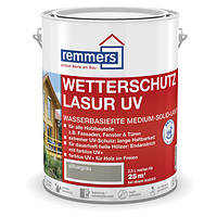 Краска по дереву для наружных работ Remmers Wetterschutz-Lasur UV  - 20л, фото 1