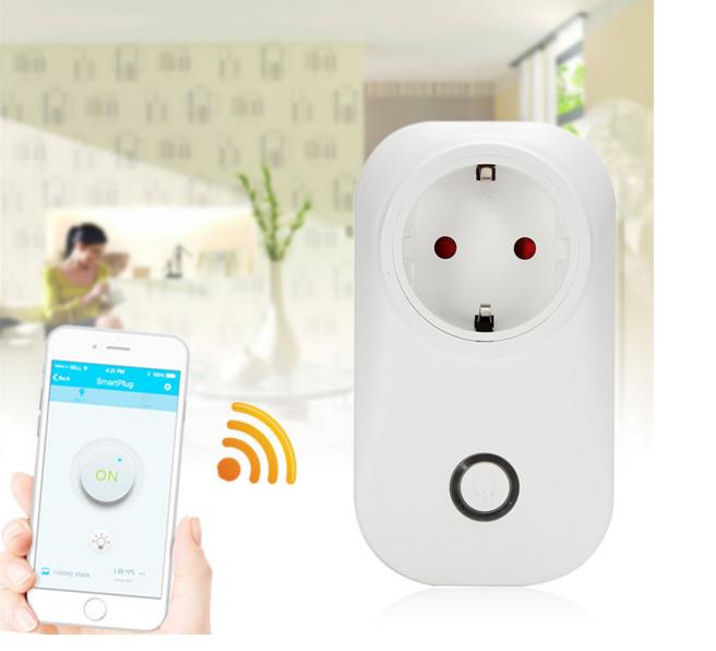 Дистанційна розумна Wi-Fi розетка Sonoff S20 c таймером Smart Socket EU