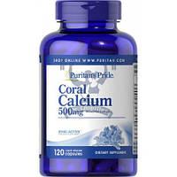 Puritan's Pride Coral Calcium Complex 500mg  коралловый кальций витамины